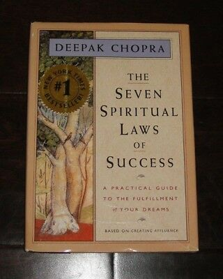 The Seven Spiritual Laws of Success by Deepak Chopra - Hardcover with Jacket