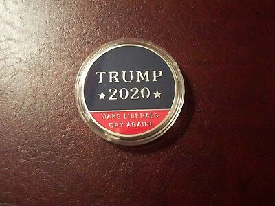 2020 Donald Trump Make America Great Again President Commemorative Coins Silver