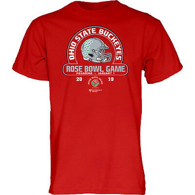"OHIO STATE Buckeyes 2018 ""Rose Bowl Game"" T-Shirt – Red"