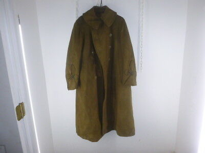 Scarce Ww 1 Us Army Officer's  Lt. Tailor Made Overcoat