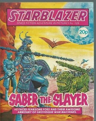 Saber The Slayer,starblazer Space Fiction Adventure In Pictures,comic,no.125