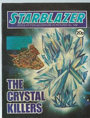 The Crystal Killers,starblazer Space Fiction Adventure In Pictures,comic,no.124