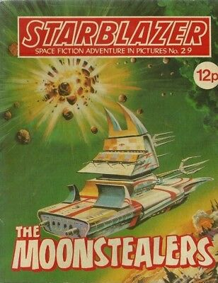The Moonstealers,starblazer Space Fiction Adventure In Pictures,comic,no.29