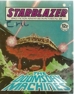 The Doomsday Machines,starblazer Space Fiction Adventure In Pictures,comic,no.20