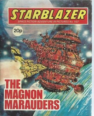 The Magnon Marauders,starblazer Space Fiction Adventure In Pictures,comic,no.107