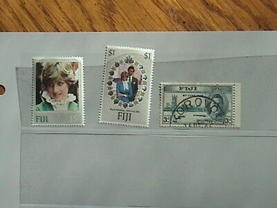 Fiji - Selection Of Mint & Used Stamps, Little Duplication