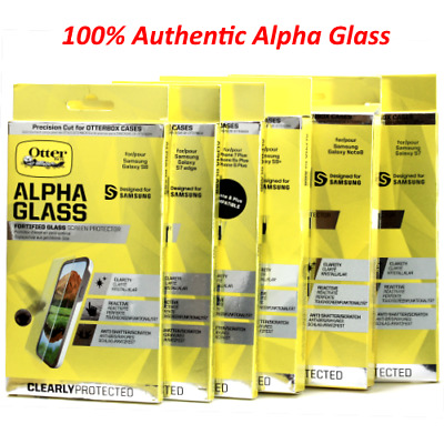 Genuine OtterBox Alpha Glass Series Screen Protector For Apple / Samsung & LG