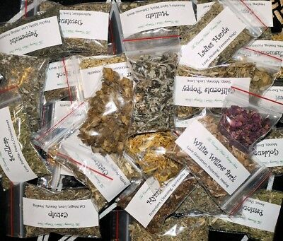 30 Herbs Kit - Witchcraft, Wicca, Pagan, Magical Herbs