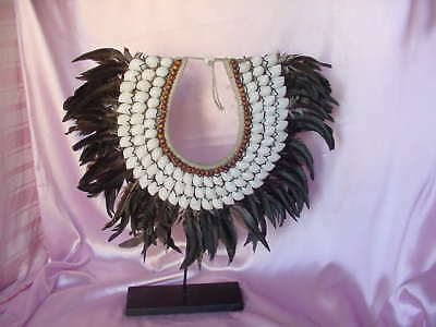 Bali Indonesia Barong Mythological Creature Character Ceremonial Necklace Nr