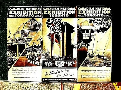 1935 Brochure for Canadian National Exhibition, Toronto