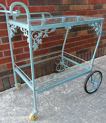 Woodard Vintage Wrought Iron Cart