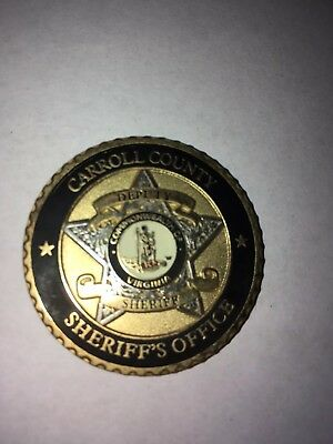 Carroll County Virgina Sheriff's Office Medallion