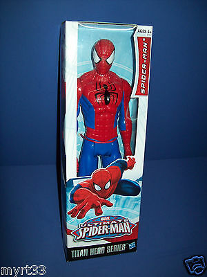 2013 Marvel Serie de Hero Titan Spiderman Spider-Man Desechables 30.5cm Figura