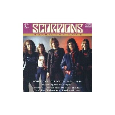 Scorpions - Hurricane Rock - Scorpions CD ALVG The Cheap Fast Free Post The