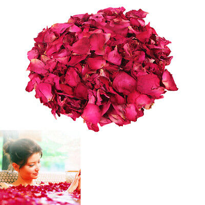 20g/Pouch Dried Rose Flowers Petal for Confetti Soap making Bath Spa Bombs ll