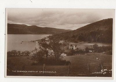 The Dornoch Firth At Spinningdale Vintage RP Postcard 468a