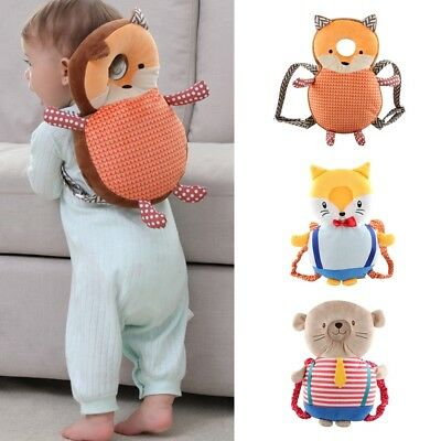 Baby Head Protection Cushion Pad Toddler Headrest Neck Care Case Kids Toy Pillow
