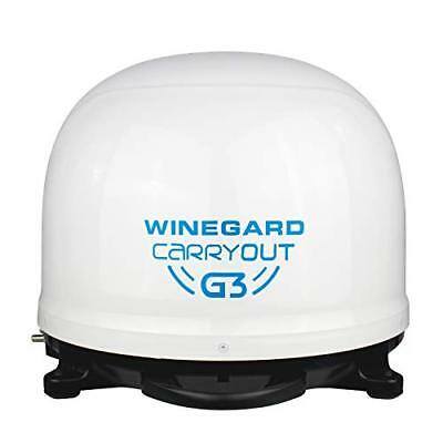 Winegard Company GM9000 Carryout G3 Sat Tv Antenna, White