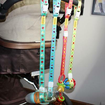 Baby Bottle Sippy Cup Holder Strap Leash Tether For Stroller High Chair Car AL