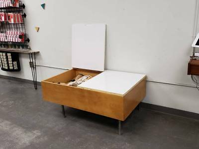 Rare George Nelson for Herman Miller Blonde Blanket Chest White