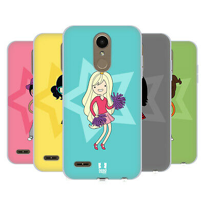 Head Case Designs Female Teen Personalities Soft Gel Case For Lg Phones 2