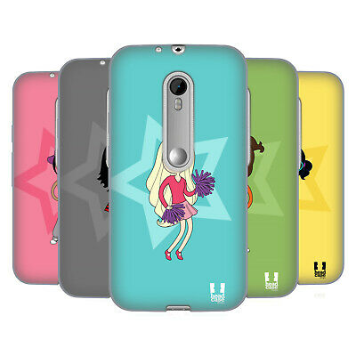 Head Case Designs Female Teen Personalities Soft Gel Case For Motorola Phones 2