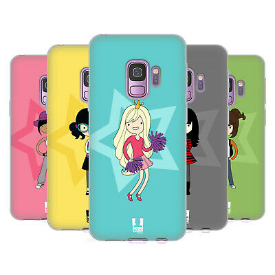 Head Case Designs Female Teen Personalities Soft Gel Case For Samsung Phones 1