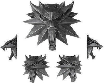 Witcher 3 - Wolf Wall Sculpture [New Misc] Statue, Collectible