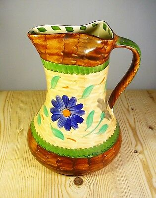 Myott Son & Co Art Deco Pinchneck Jug (1)