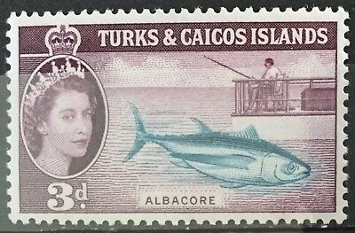 Turks and Caicos Islands 1957  3d. Albacore SG241 Mtd.Mint