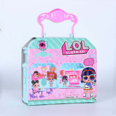 Lol Surprise Doll Hand Bag Edition Turns To House! Eye Spy Series (12 Surprises)