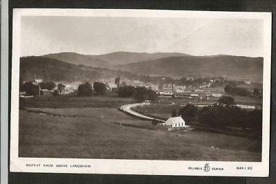 OWL 4 Early Postcards of Moffat, Dumfriesshire