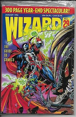 Wizard Magazine #29 - Jan 1994 - Sealed Never been Opened!