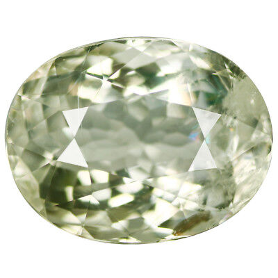 3.82Ct Stunning Oval Cut 11 x 9 mm 100% Natural Green Beryl