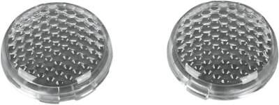 DS Replacement Lenses for Deuce-Style LED Turn Signal Kit Clear