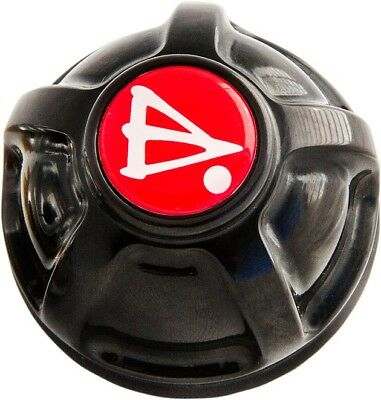 Battistinis Oil Filler Cap Black #50-251 Harley Davidson