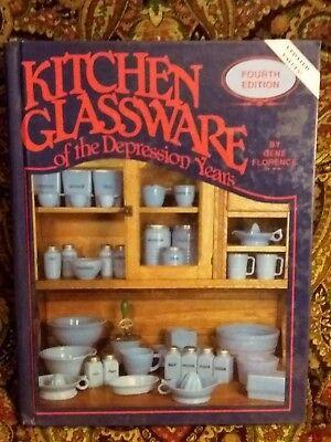 Kitchen Glassware Of The Depression  Years 4th Edition, Hardcover