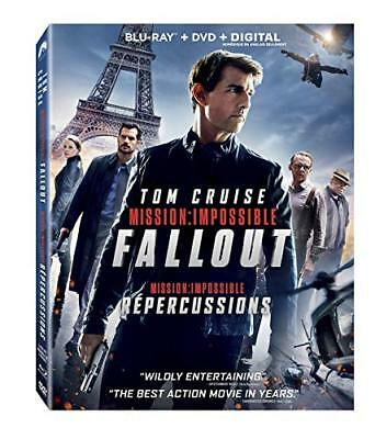 Mission: Impossible - Fallout  [Blu-ray+DVD+Digital  ]