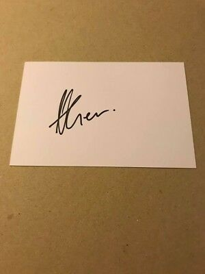 Hosea Gear - New Zealand All Blacks Rugby - Signed 6X4 Card