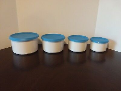 Tupperware Canister Set small bt