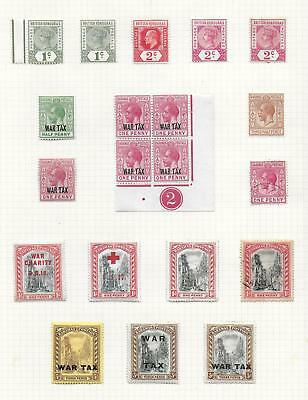British Honduras stamps Collection of 20 CLASSIC stamps HIGH VALUE!