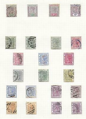 Goldcoast stamps Collection of 22 CLASSIC stamps HIGH VALUE!