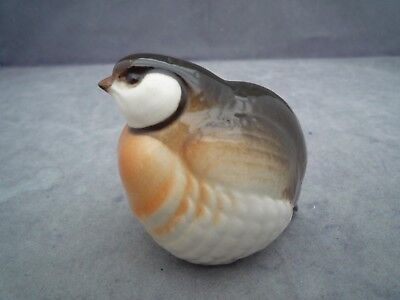 Ussr Russian Small Partridge Approx 2 1/2 Inch High