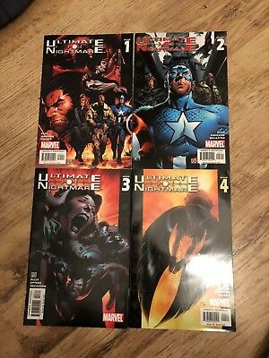 Ultimate Nightmare 1 - 4 Marvel Comics