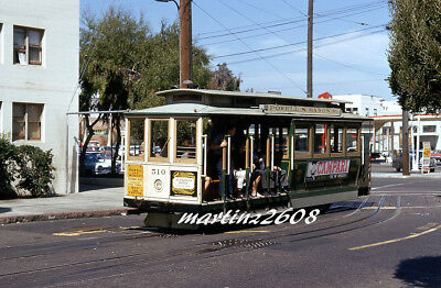 Orig. Traction / Trolley Slide Sfmr (Cable Car) 510