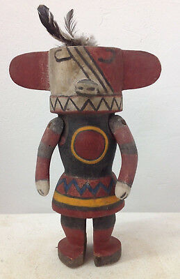 old america Hopi doll - Kachina 13 inch old Germany collection