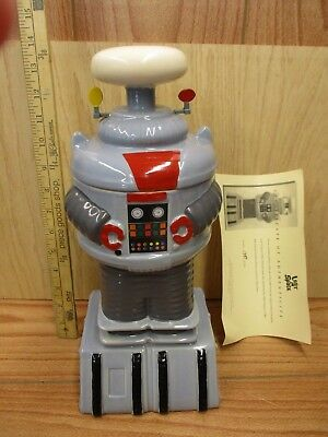 Limited Edition Lost In Space Robot Cookie Jar w/ COA