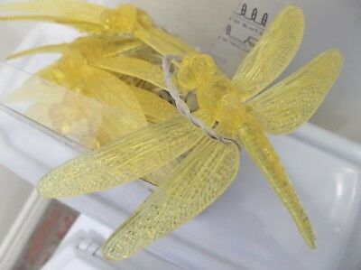 Ikea Skina Dragonfly Led String Light 16 Indoor Outdoor Lights Yellow 801 024 05 34 50 Picclick