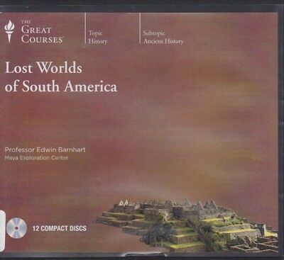 LOST WORLDS OF SOUTH AMERICA by THE GREAT COURSES CD's ~24 lectures + 12 CD'S