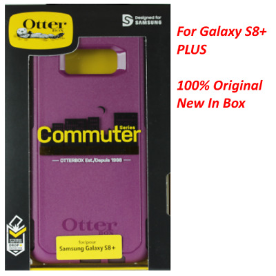 Genuine OtterBox COMMUTER Series Case For Samsung Galaxy S8 / S8+ BRAND NEW